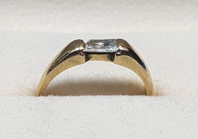 Złoto,złoty pierścionek 0.333