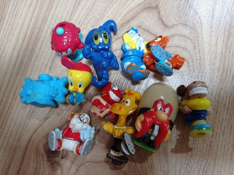 Zabawki z Kinder jajek niespodzianek