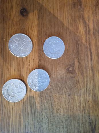 Monety 50groszy. PRL 16sztuk