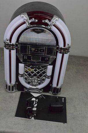 Szafa grająca mini wieża Bluetooth radio UKF USB SD MP3 CD