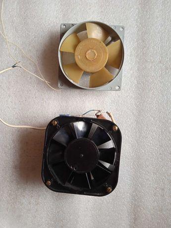 Вентиляторы промышленной аппаратуры.