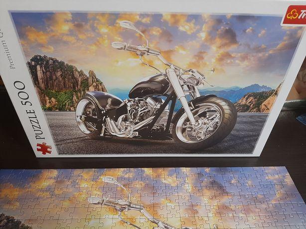 Продам пазл мотоцикл Trefi на 500 елементів