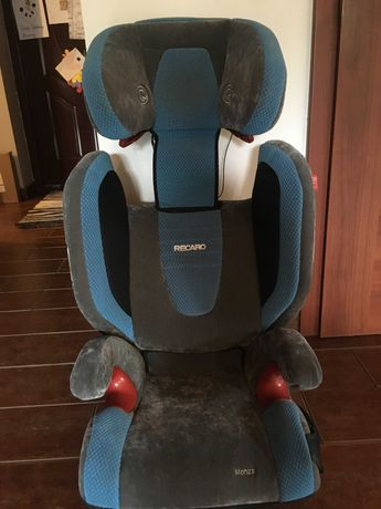fotelik samochodowy Recaro 15-36kg z systemem audio