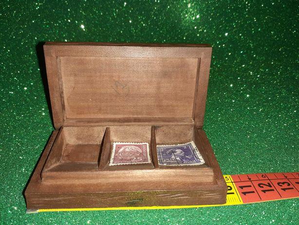 """Caixa de Madeira para selos"""" Pedras Salgadas"""""""