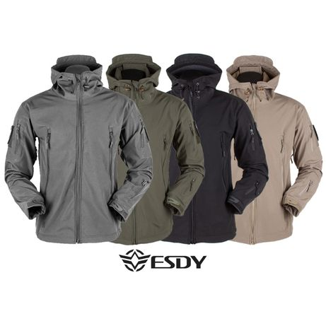 """Куртка Soft Shell """"ESDY - 105 серая"""" куртка тактическая, непромокаемая"""