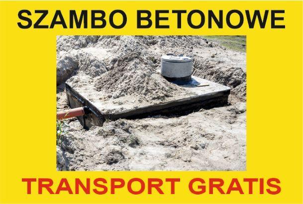 Zbiorniki Betonowe Trójmiasto i okolice - DARMOWY TRANSPORT!!!