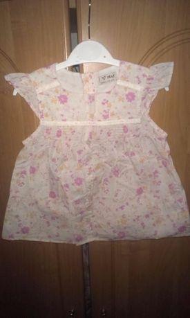 Туника блузка блуза для маленькой модницы Next