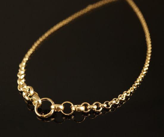 Złoto 585-Złoty łańcuszek damski