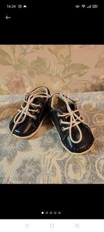 Ботиночки для мальчика, пинетки