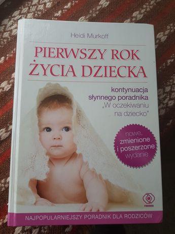 Pierwszy rok życia dziecka, ponad 700 stron, książka, poradnik