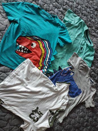 Koszulki 4 szt rozmiar 134. C&A