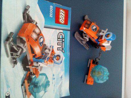 LEGO CITY Arctic 60032 skuter śnieżny