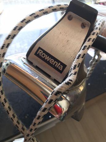 Ferro antigo da Rowenta