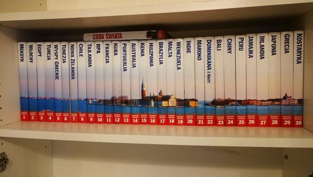 Podróże marzeń pełny zestaw 31 tomów. Jak nowe. książki album prezent