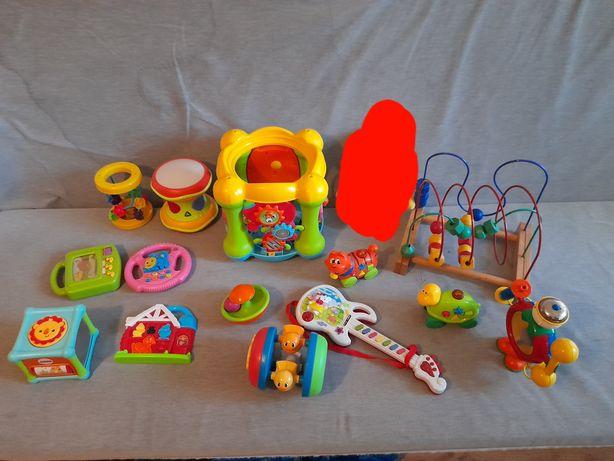 Duży zestaw zabawek interaktywnych