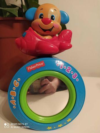 Zabawki dla maluszka, Fisher price, Szczeniaczek-Kiwaczek, książeczki