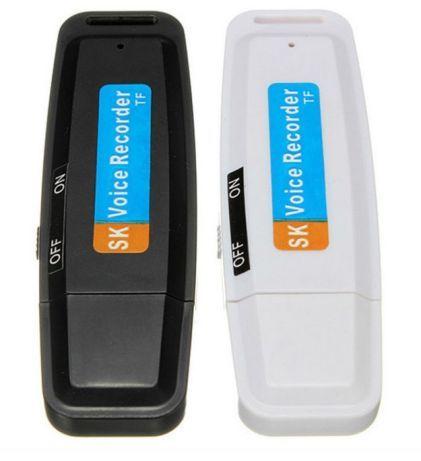 АКЦИЯ 3 в 1 Цифровой диктофон флешка картридер на microSD до 64гБ