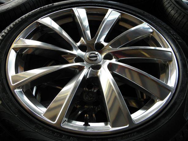 Koła Felgi 21 Volvo XC90 5x108 opony całoroczne 275/40R21 Pirelli Nowe