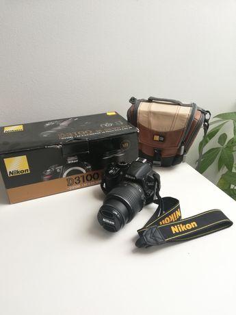 Aparat Lustrzanka Nikon D3100 + Nikkor 18-55mm VR + torba