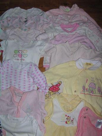 Ubranka dla dziewczynki rozm. 68-86