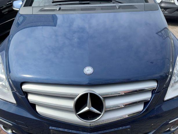 Mercedes B klasa W245 LIFT 08-11R maska pokrywa silnika niebieska 240