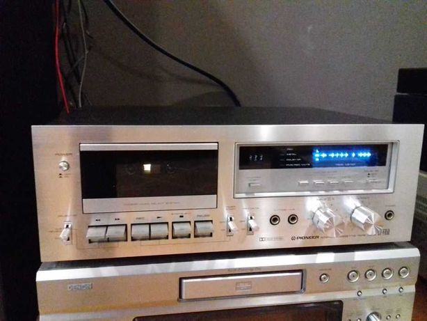 deck gravador cassetes Pioneer CT-650