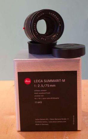 Leica Summarit-M 75mm F/2.5 Lente