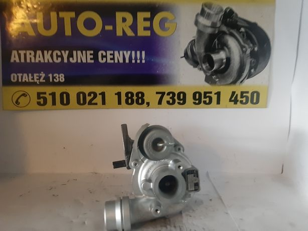 Turbina TurboSprężarka Dacia Renault Silnik 1.5 dCi, K9K Euro5 Wysyłka