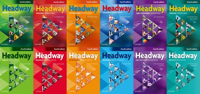 Headway 4th edition  (КНИЖКА+ЗОШИТ)