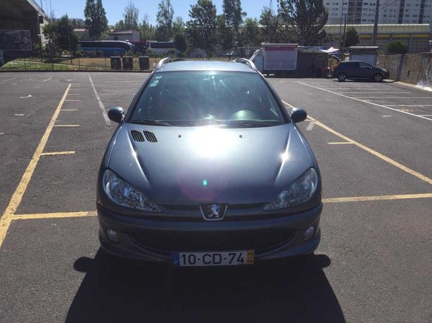 Peugeot 206 SW 1.4 HDi Diesel  Carrinha 2006 Set   224 000 km