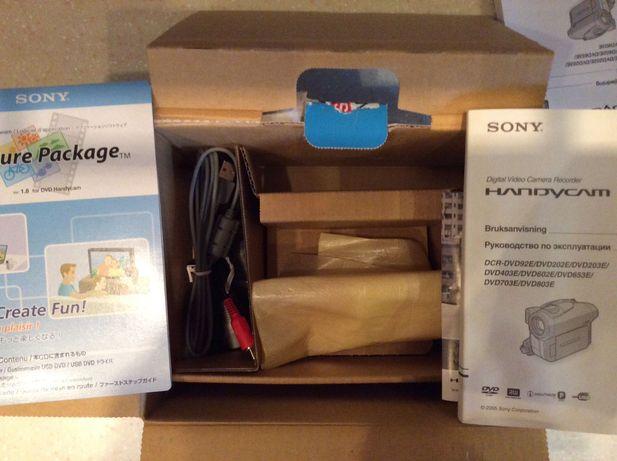 Видеокамера  SONY, DVD Handycam