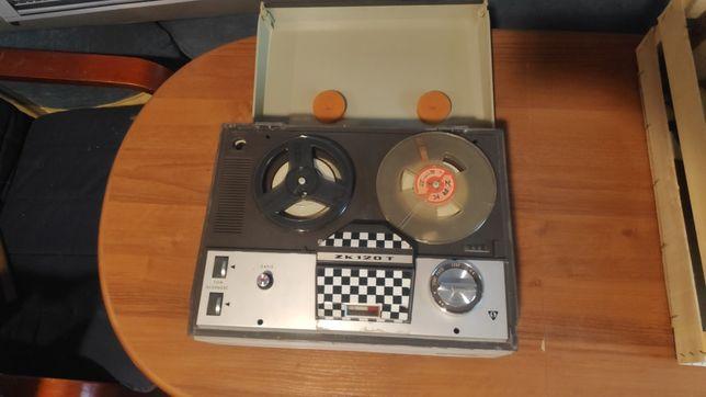 Magnetofon szpulowy UNITRA zk120T