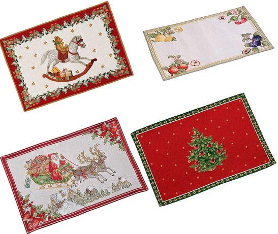 Гобеленовые салфетки Villeroy&Boch French Garden и Рождество