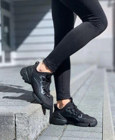 Кроссовки Dior D-Connect Sneaker Black/Диор/Последний 36 размер