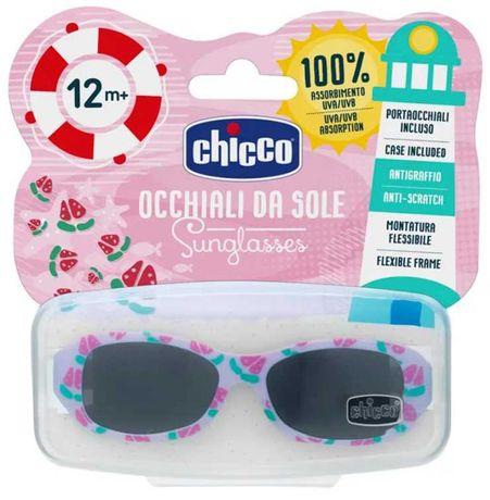 Óculos de sol para bebé menina 12M+ Chicco