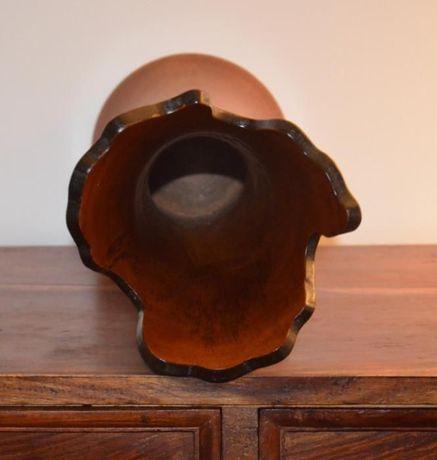 Jarra em madeira de fina qualidade – Altura 37,5 cm
