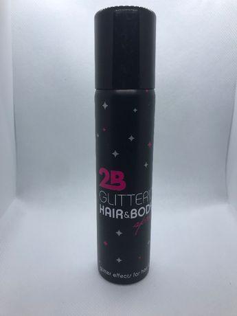 Спрей для волос и тела с блестками 75ml