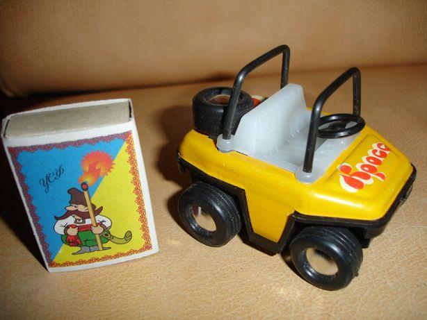 "Машинка дитяча ""Кросс"" механічна, НОВА, в упаковці, раритет"
