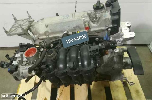 Motor Fiat Grand Punto EVO Panda 1.2 8v 65Cv Ref.199A4000