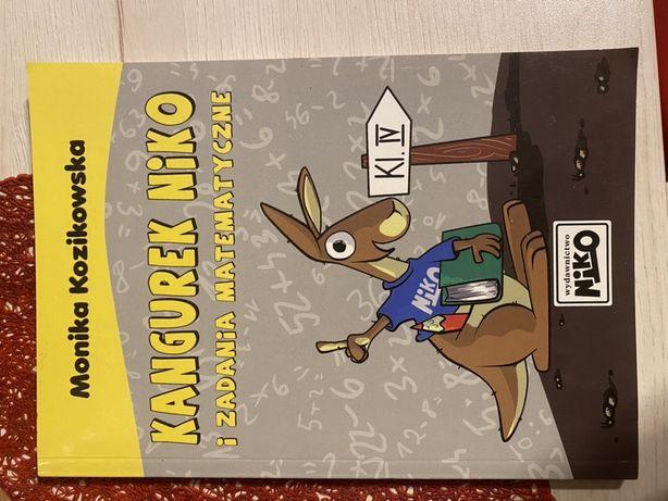 Ksiazka matematyk V klasa kangurek niko
