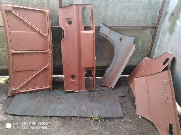 Запчасти кузова ваз 2106 крышка багажника, по фото цена договорная