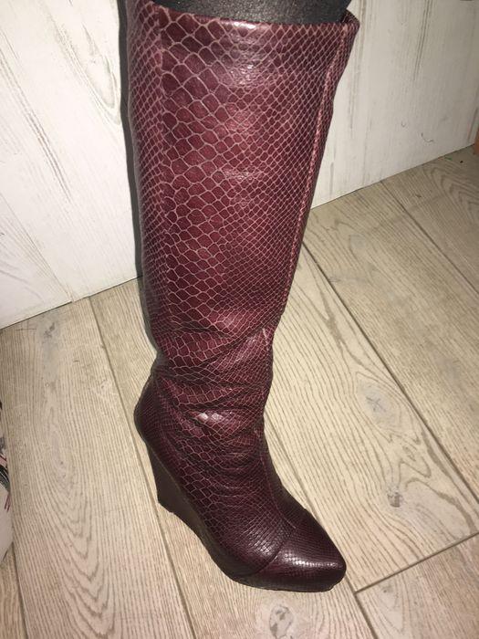 Сапоги кожаные Boutique Березань - изображение 1
