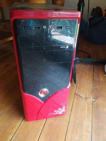 Komputer stacjonarny.