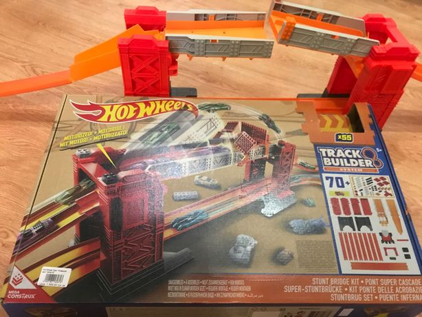 Track builder Hot Wheels хот вилс лего