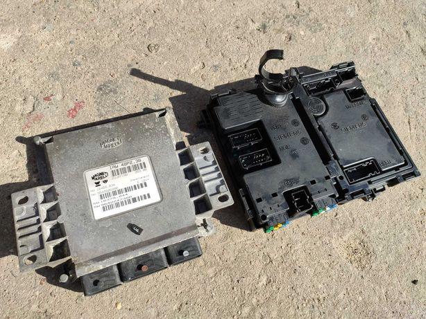 Komputer silnika IAW 48P2.38 ECU +BSI+ Immo Peugeot 206 2.0 GTI 136KM
