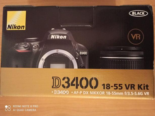 Зеркальная фотокамера Nikon D3400 kit 18-55mm VR