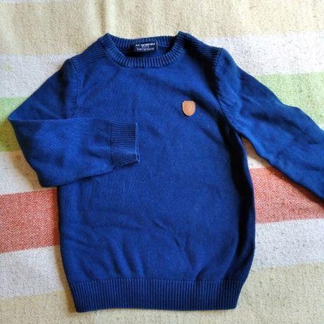 свитер для мальчика 98-104