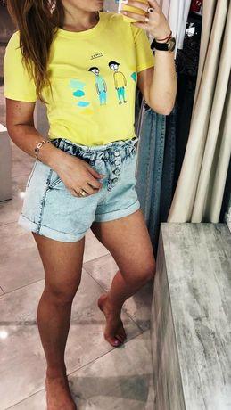 Джинсові шорти висока талія жіночі