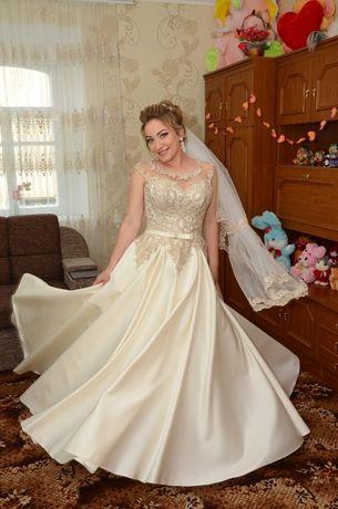 Продам розкішне весільне плаття