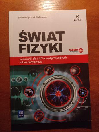 Książki do szkoły technikum / liceum Świat fizyki